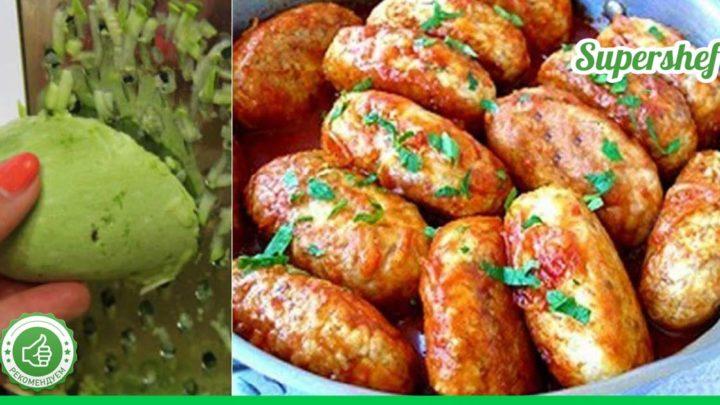 Вкуснятина на ужин: пышные кабачковые котлетки