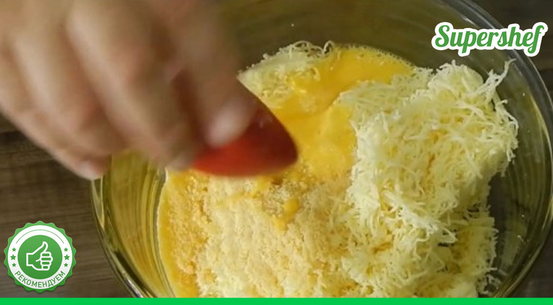 500 г сыра, яйца и мука… Очень вкусные Домашние пончики