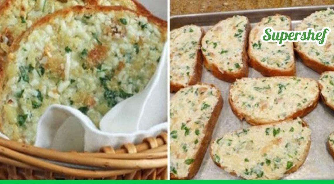 Ароматный запеченный чесночный хлеб с сыром, который никого не оставит равнодушным!
