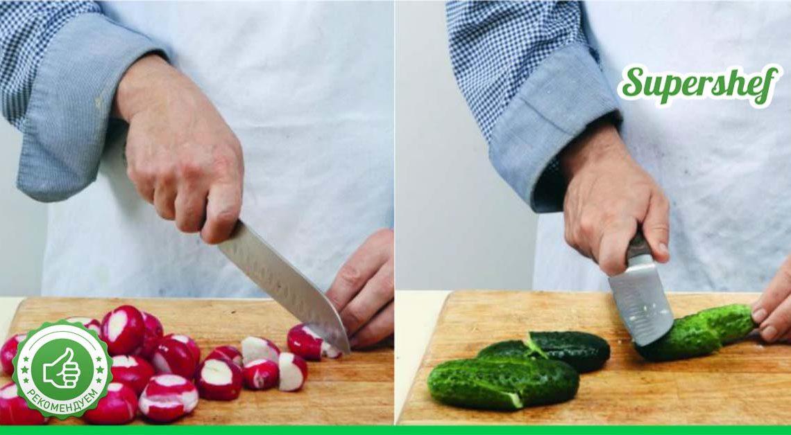 Ресторанный уровень: Шикарный салат из редиса