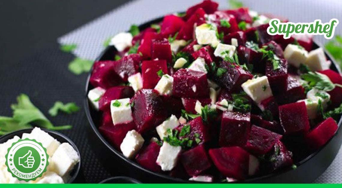 Самая лучшая подборка салатов из свеклы!
