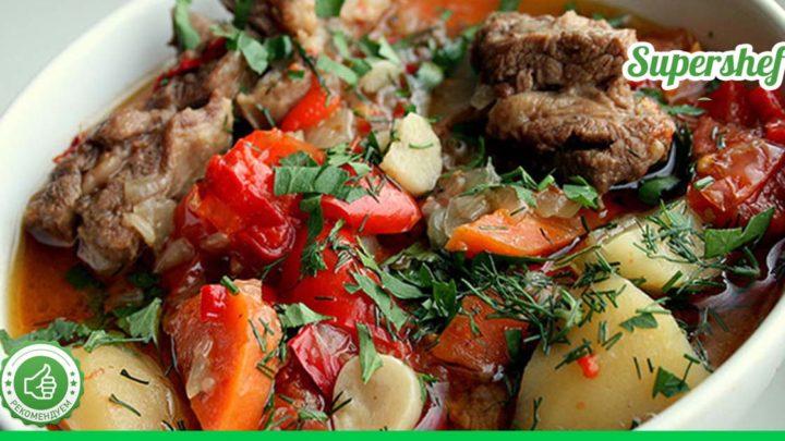 Самое ленивое блюдо армянской кухни! Хашлама из говядины и овощей