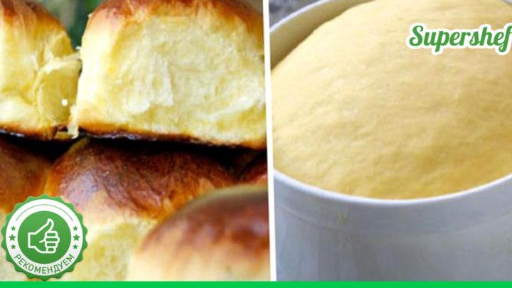 Отличный рецепт супер пышных булочек, настоящее сокровище