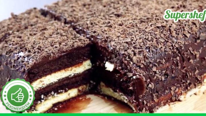 Трюфельный торт: вкусно, быстро, без выпечки