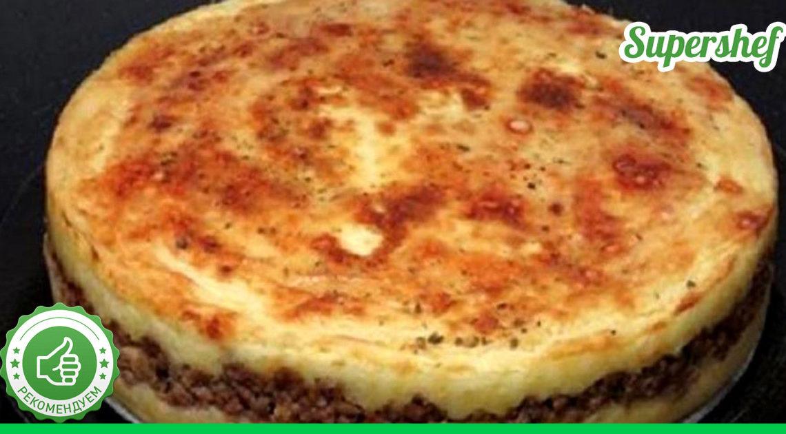 Идеальный рецепт картофельного пирога с мясом