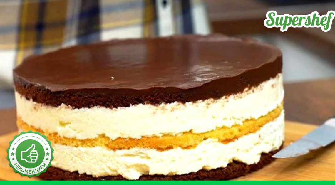 Нежный торт для детского праздника. Пальчики оближешь.