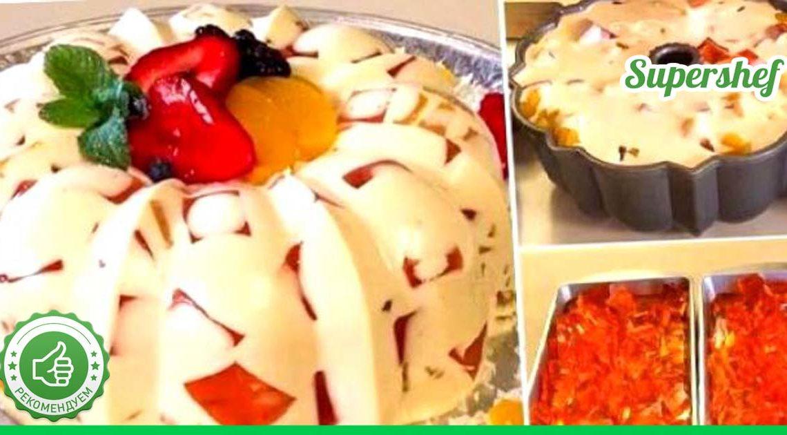 Рецепты нежнейших десертов с желатином