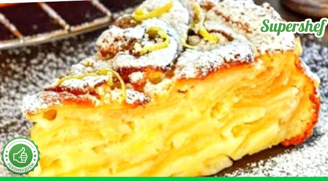 Попробуйте эту шарлотку, вы забудете о тортах и пирожных!