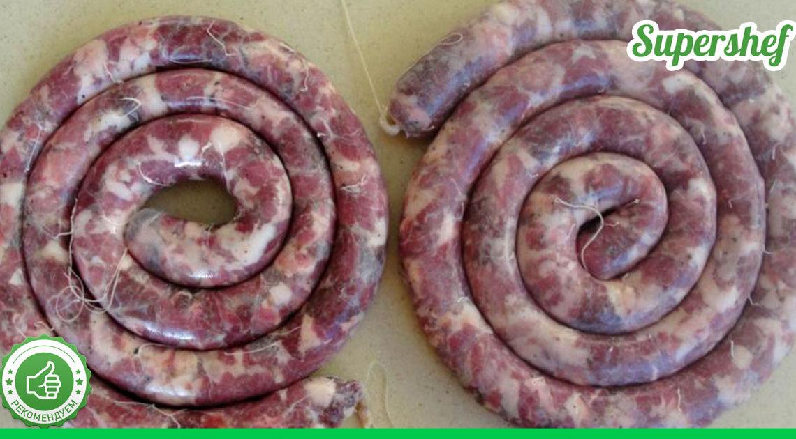 Великолепная домашняя колбаса: только польза и никаких вредных добавок