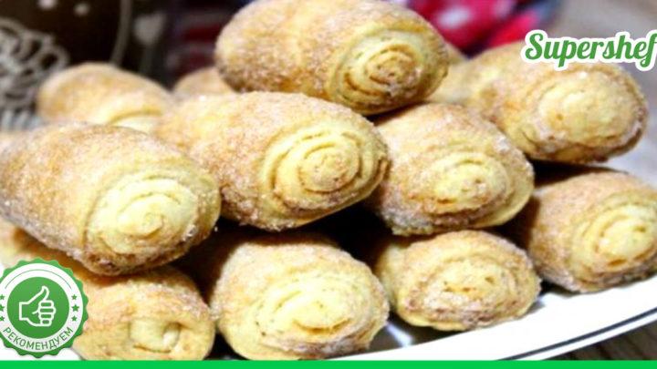 Попробуйте приготовить вкуснейшее печенье, используя всего три составляющих