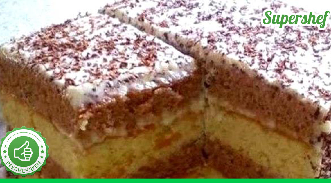Торт-сметанник. Простейший рецепт, который подходит для начинающих кулинаров.
