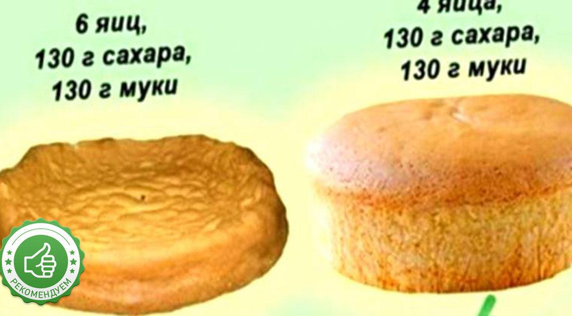 10 секретов идеально-воздушного бисквитного теста