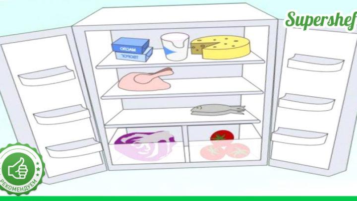 Храните продукты питания в холодильнике безопасно. Основные правила и сроки годности.