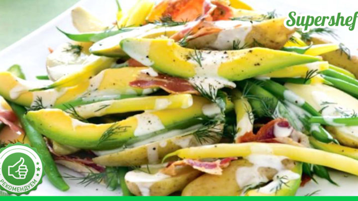Праздничные салаты с авокадо