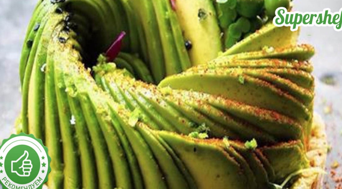 Восхитительная подборка салатов с авокадо