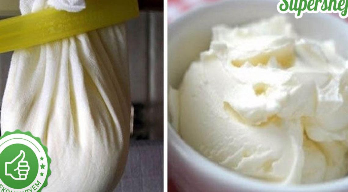 Сыр маскарпоне в домашних условиях.