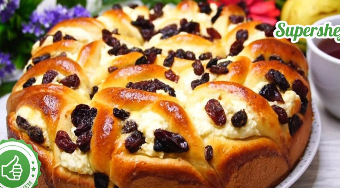 Обалденный творожный пирог «Полный восторг»