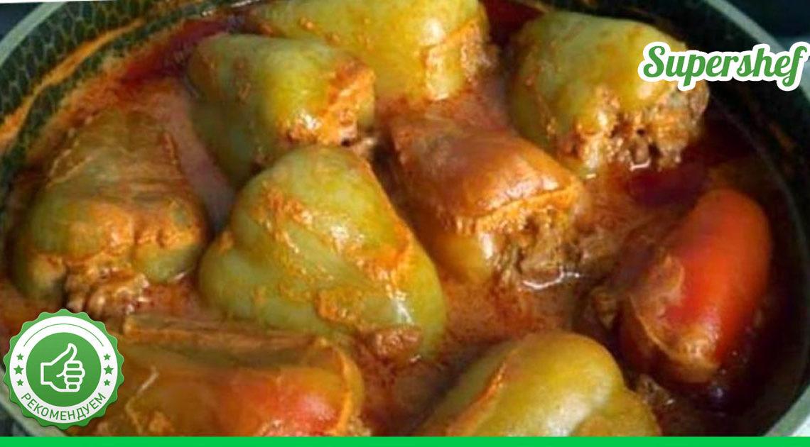 Хотим поделиться новым рецептом фаршированного перца