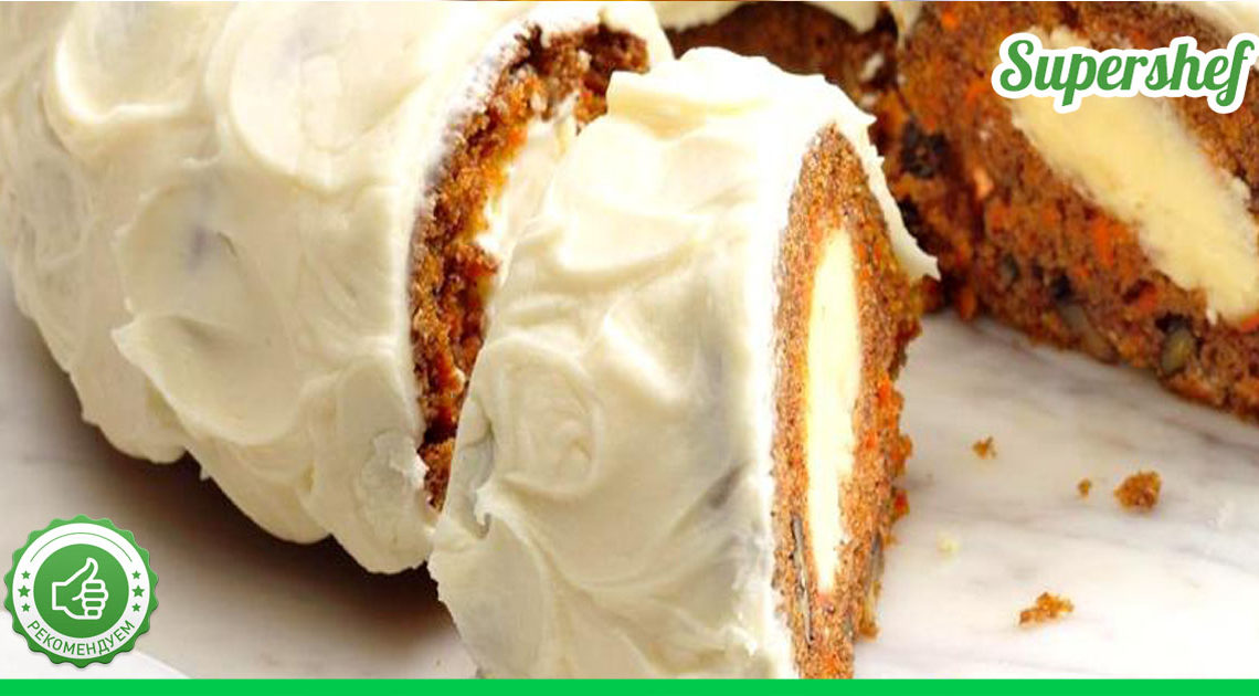 Этот морковный торт легко затмит любые известные вам десерты