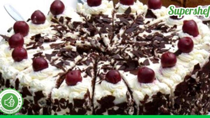 Вкуснейшие торты с вишнями, которые можно приготовить дома