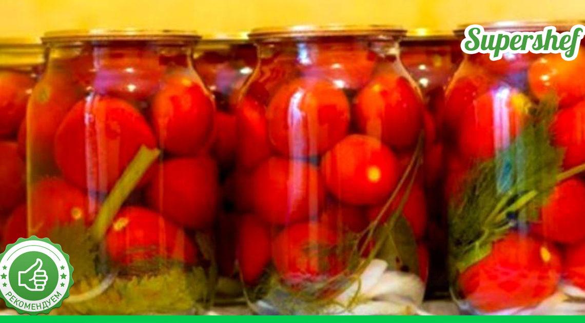 Теперь я закрываю помидоры на зиму только по рецепту своего мужа