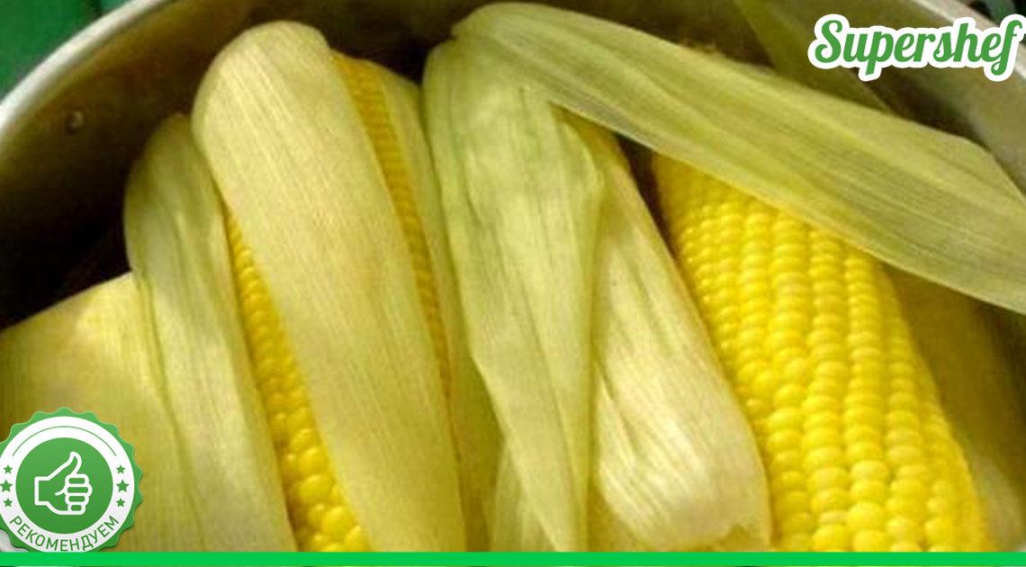 Как быстро варить кукурузу мне подсказала моя соседка