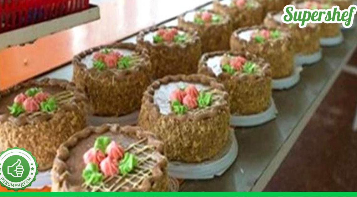 Самые вкусные и популярные торты родом из СССР