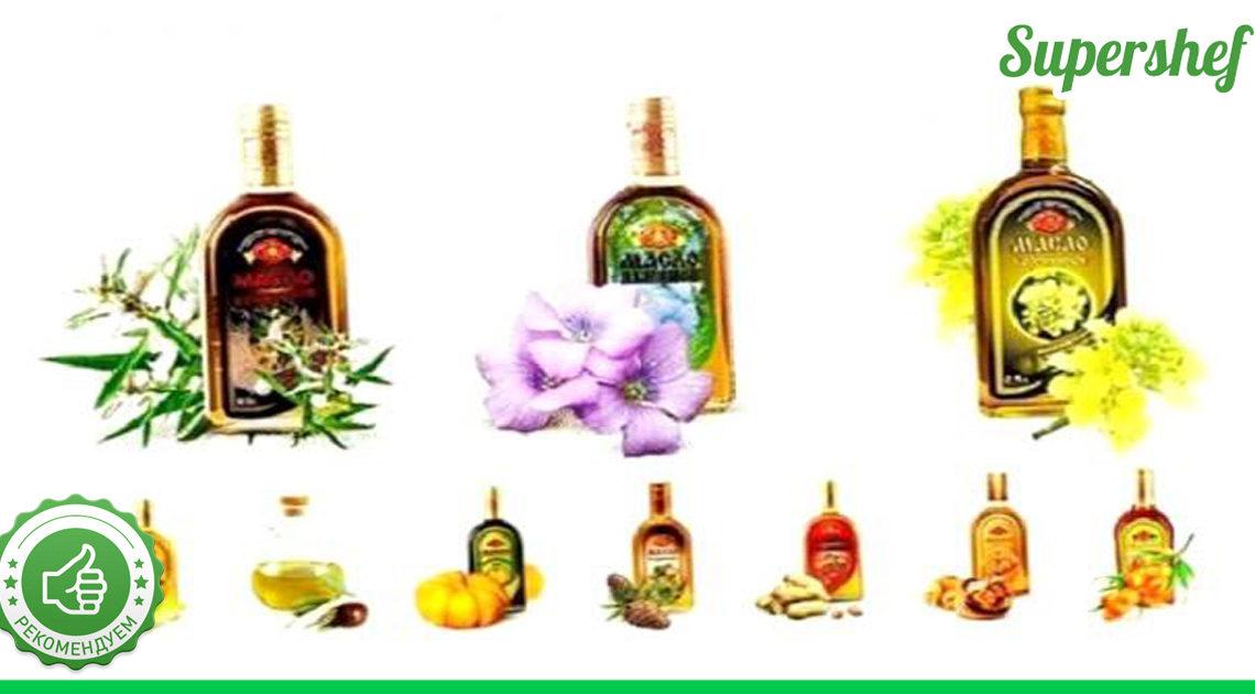 Полезная информация о растительных маслах: польза и особенности каждого их них