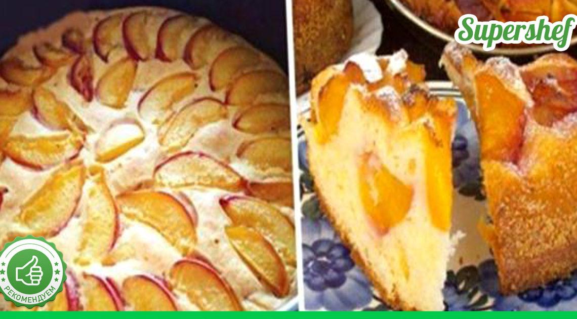 Летом готовим легкие, воздушные и ароматные пироги очень быстро из сподручных ингредиентов