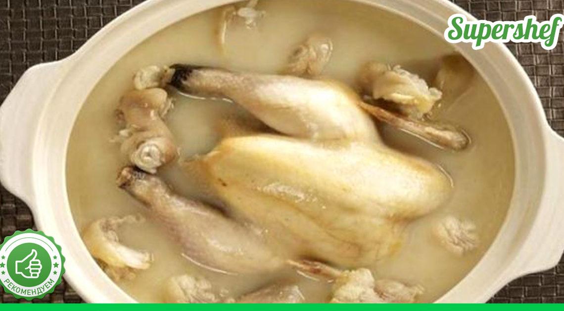 Как удалить из курицы антибиотики и гормоны