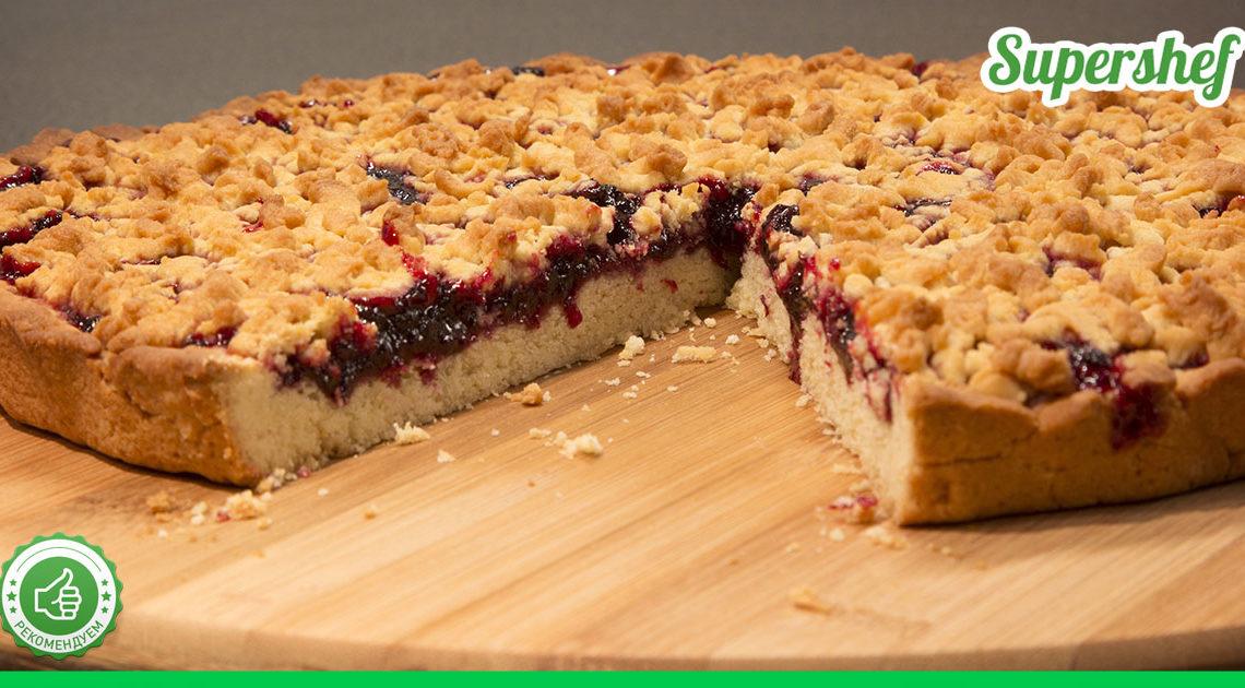 Тертый пирог — рецепт со вкусом из детства