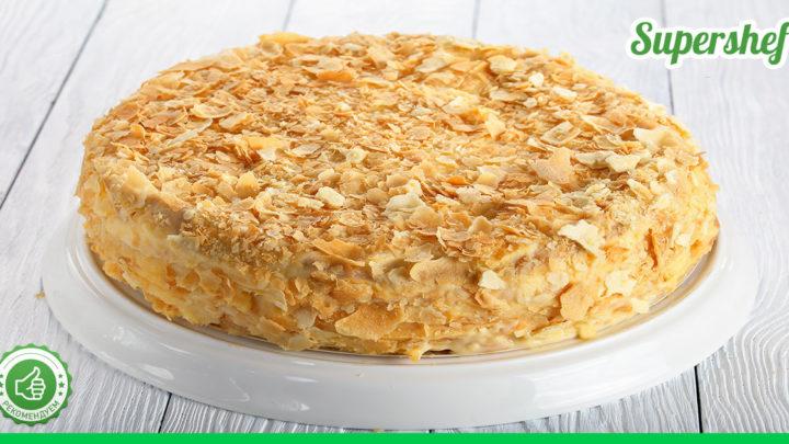 Самый вкусный и проверенный рецепт торта Наполеон