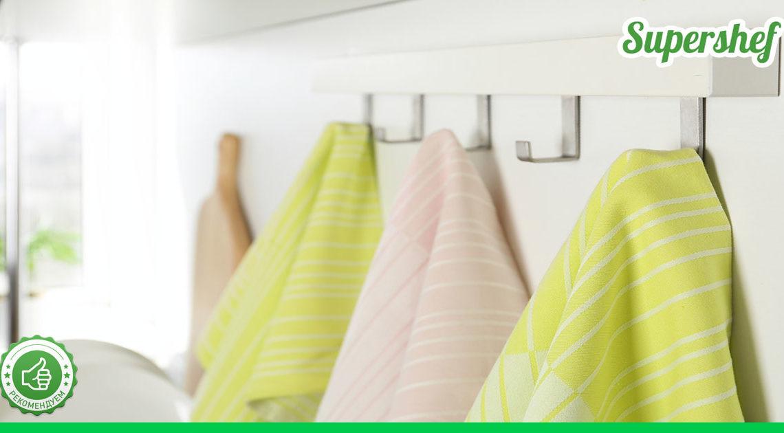 Избавиться от жирных пятен на полотенцах можно при помощи микроволновки — всего три минуты времени