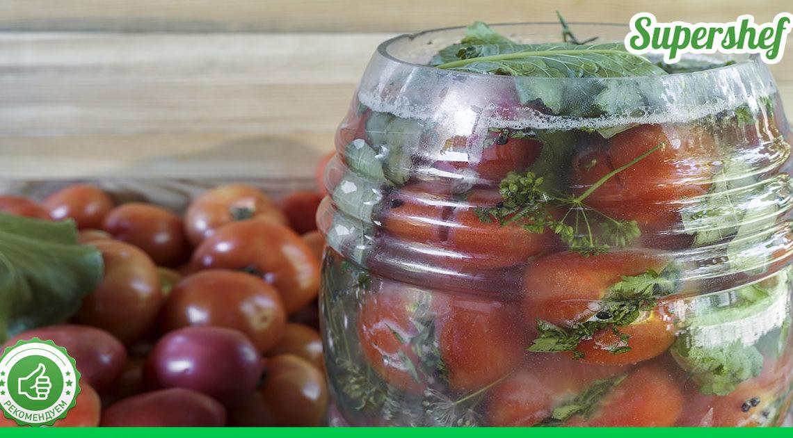 Консервированные ядреные помидоры с горчицей — вкус, как из бочки!