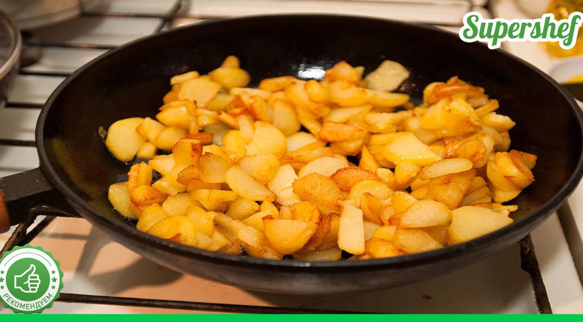 Секреты приготовления идеальной жареной картошки