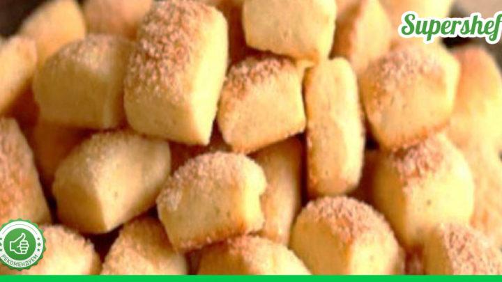 Вкусное и быстрое печенье на кефире за двадцать минут