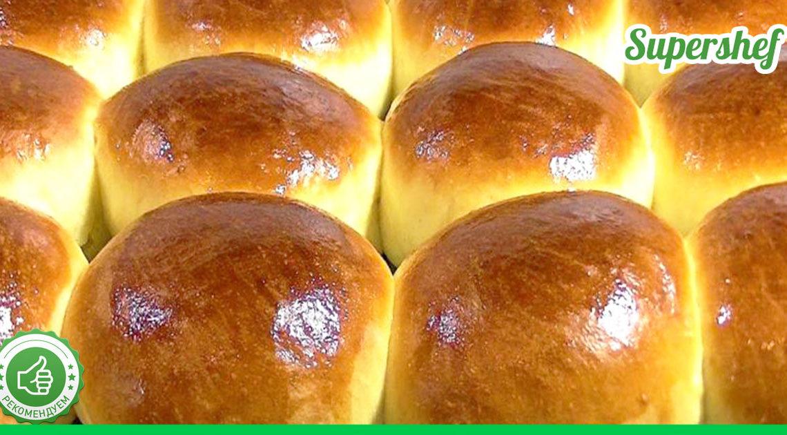 Всем знакомые булочки по 9 копеек — ностальгия по Советскому союзу! Воздушные и сдобные!
