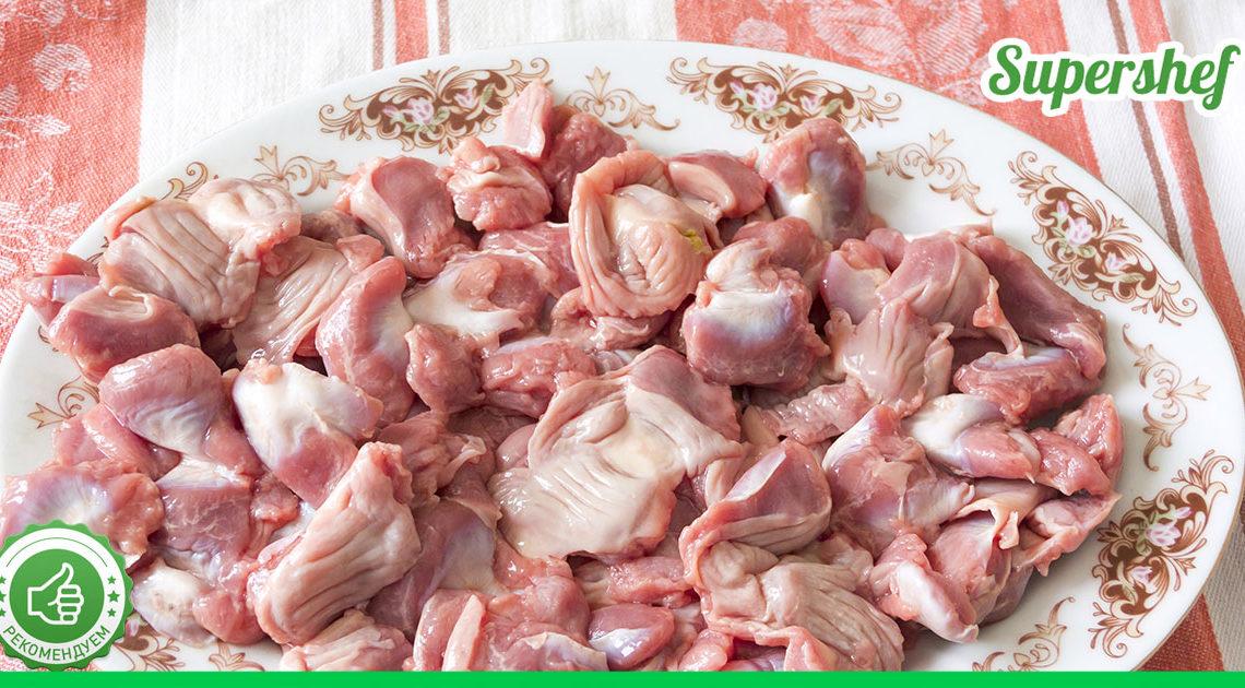 Вкуснейшие куриные желудочки, приготовленные по-корейски