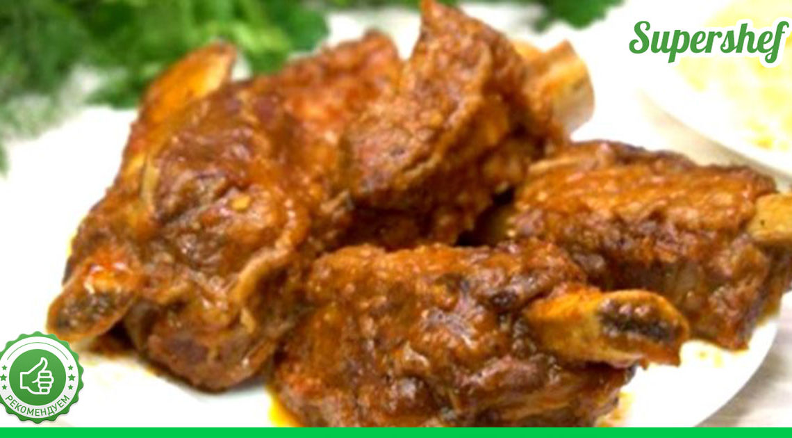 Томленым получается любое мясо, которое приготовлено по этому рецепту
