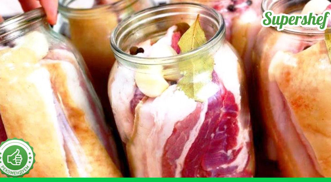 Сало в рассоле, приготовленное по деревенскому рецепту — идеальная закуска к любому столу
