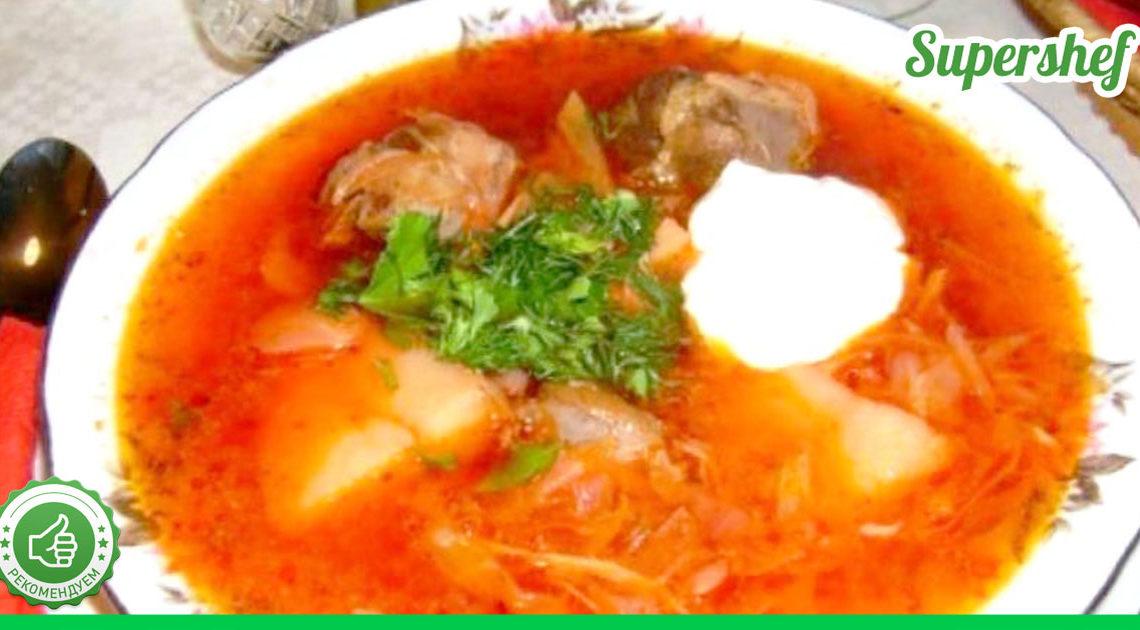 Рецепт классического Кубанского борща