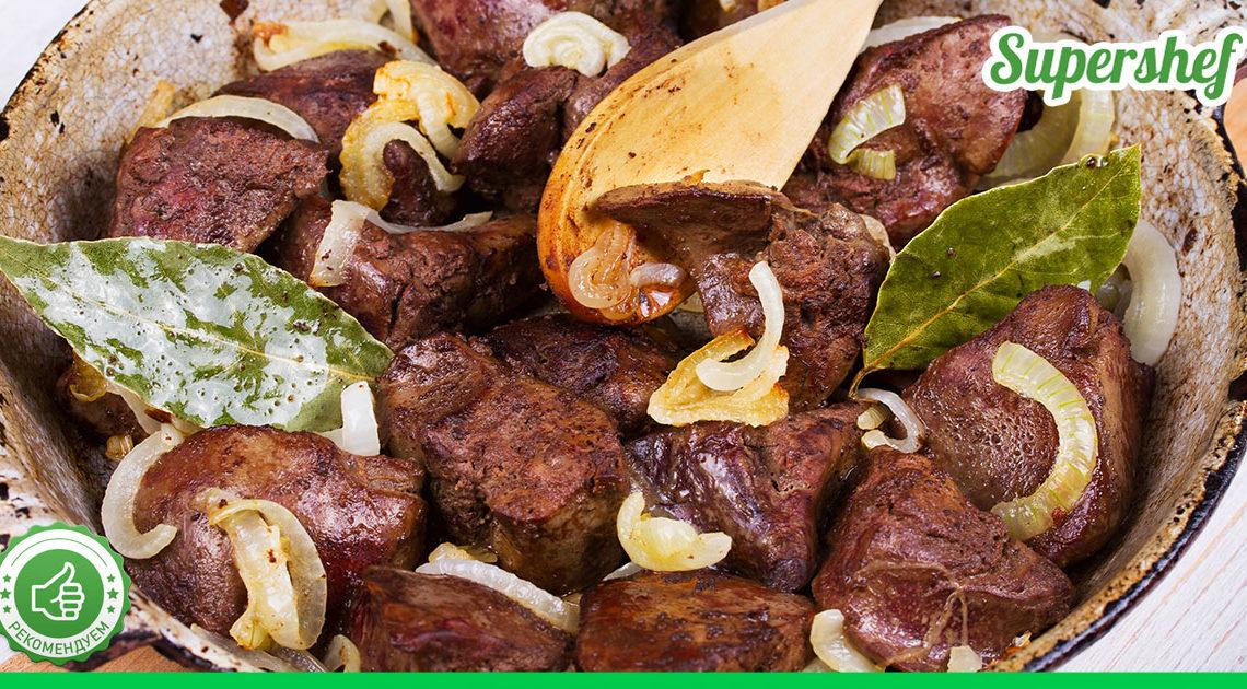Как поджарить печень с луком быстро и вкусно — несколько минут, и ужин на столе!