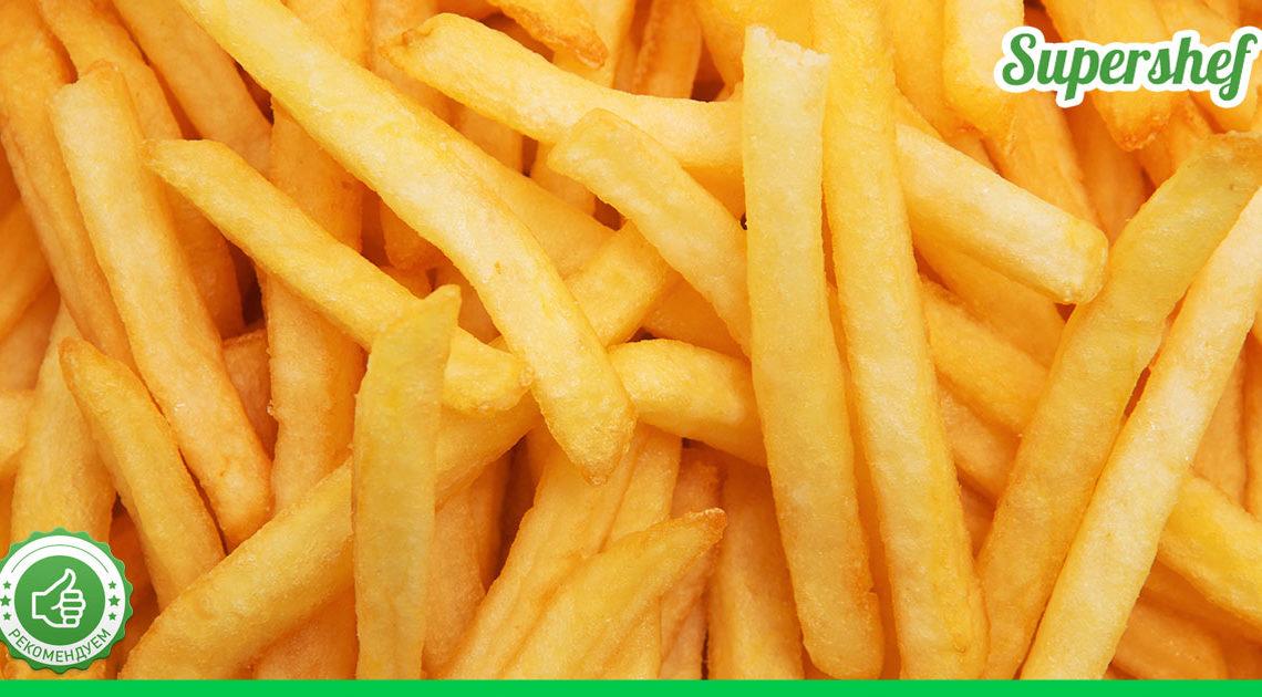 Любите картошку фри, но при этом переживаете, что она слишком жирная? Попробуйте приготовить ее в полезном варианте и ешьте хоть каждый день!