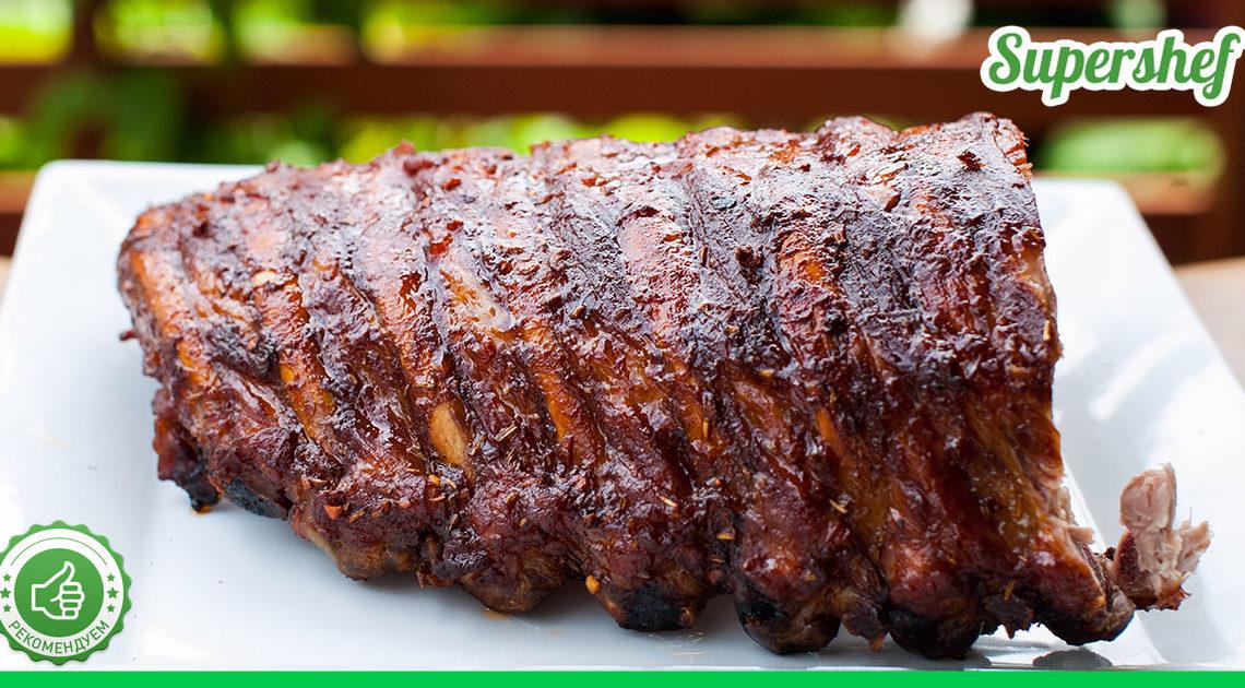 Любой праздничный стол смогут украсить свиные ребра в пикантном маринаде — изумительное угощение!
