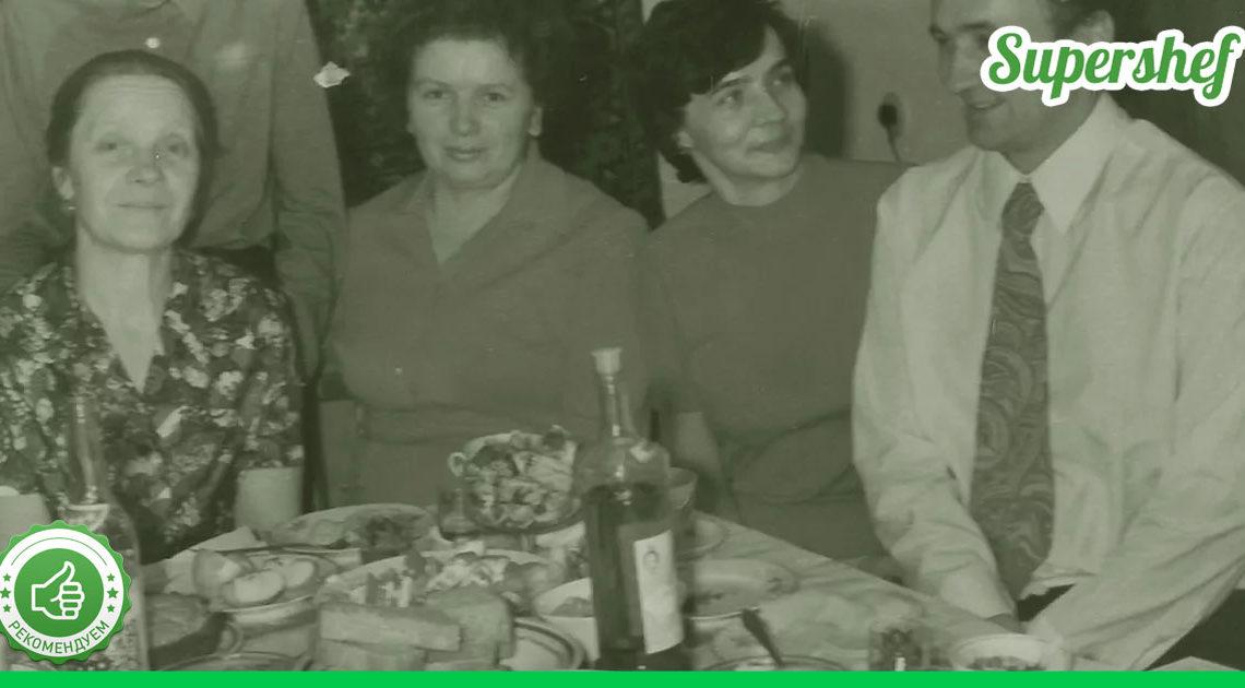 Из чего состояло недельное меню в Советской семье