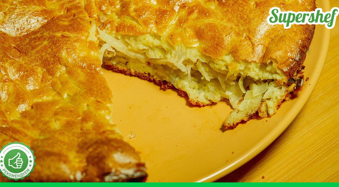 Вкуснейший капустный пирог — настолько невероятный, что есть его придется в одиночку, чтобы не отняли