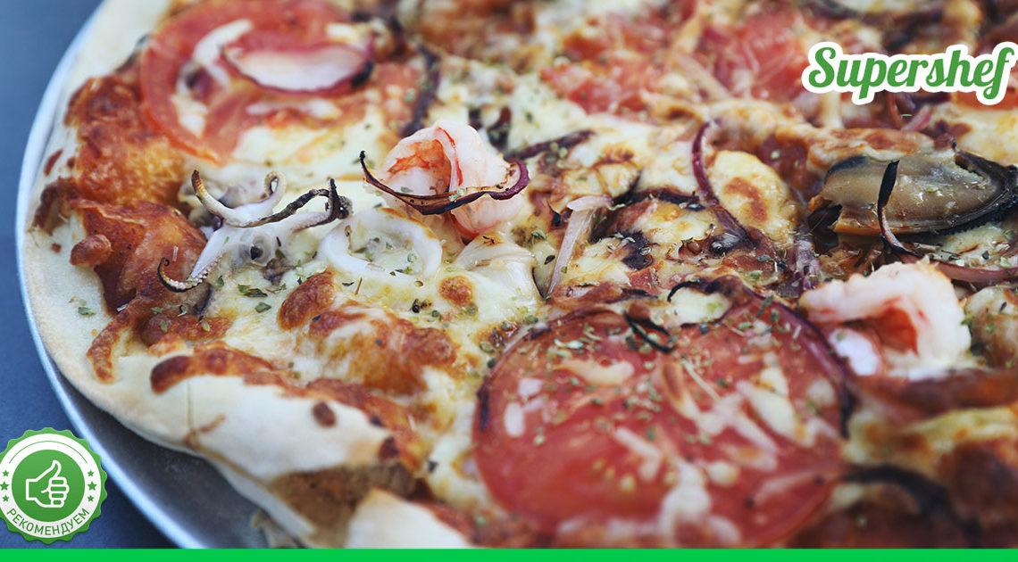 Рецепт тоненькой основы для пиццы — гурманы оценят