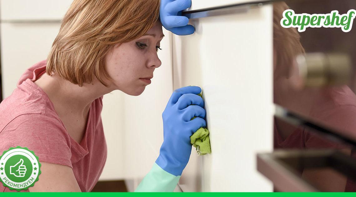 Как избавиться от появления жира на верхних кухонных шкафах
