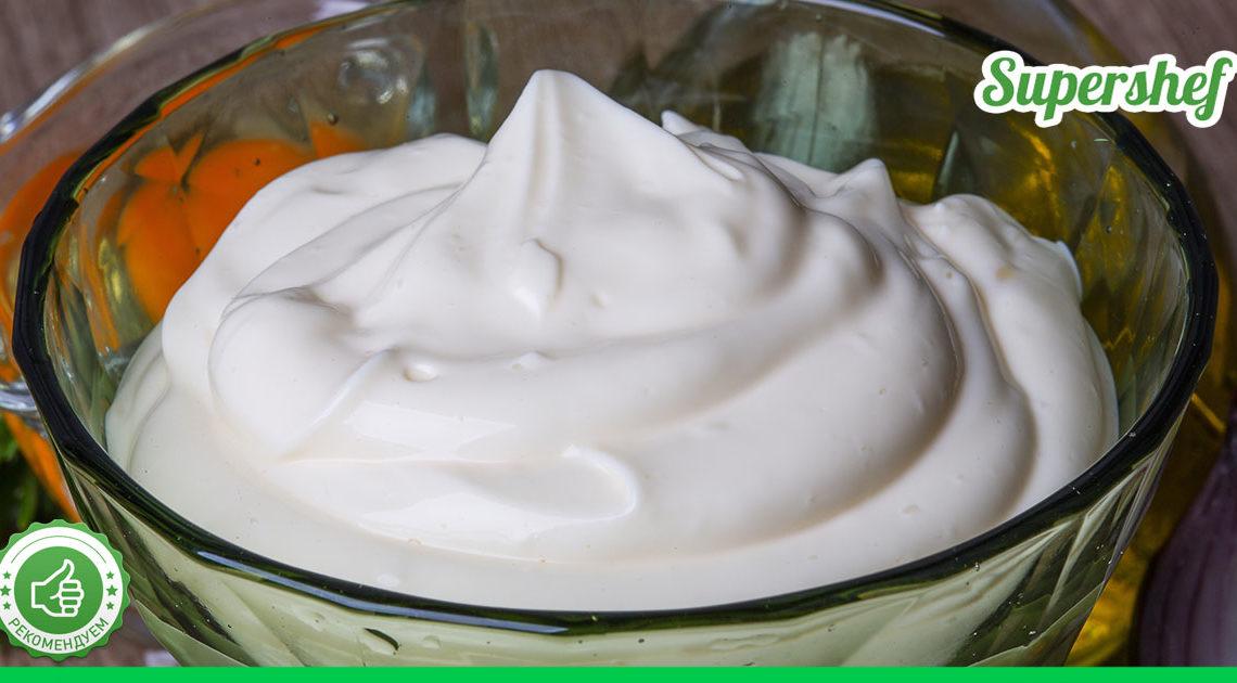 Густой майонез из домашних продуктов — целых три рецепта