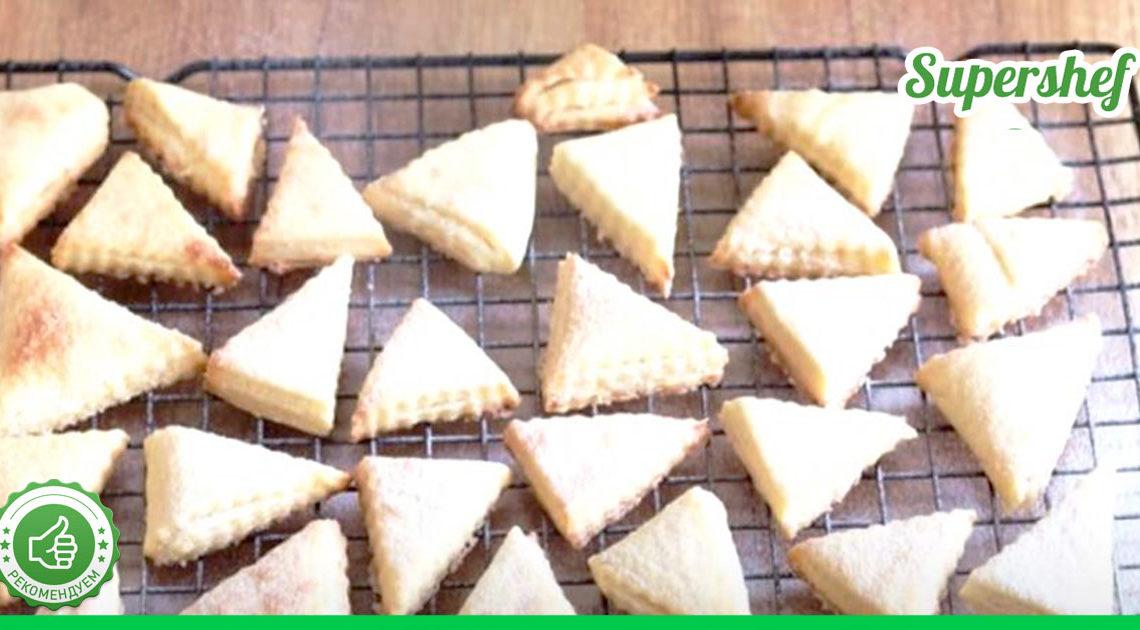 """Самый простой рецепт слоеного печенья """"Наполеон"""" — оно понравится всем!"""